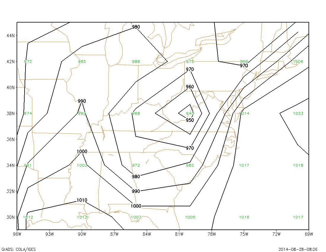Contour Line Drawing Algorithm : Clim hw
